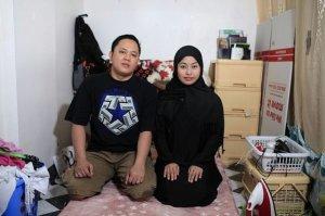 , Bersama Suaminya, Paraiso Masuk Islam