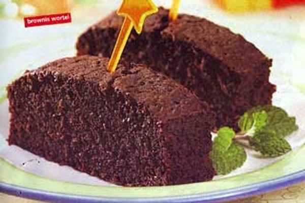 Brownies-wortel
